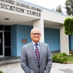 San Ysidro School Board member Rodolfo Linares joined the board earlier this year. He has questioned what was happening during the district's years in near-bankruptcy. Megan Wood / inewsource